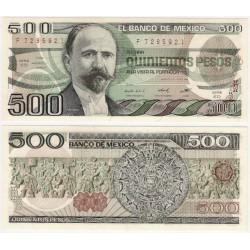 (79b) Estados Unidos Mexicanos. 1984. 500 Pesos (SC)
