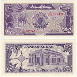 (37) Sudán. 1987. 25 Piastres (SC)