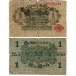 (51) Imperio Alemán. 1914. 1 Mark (RC)