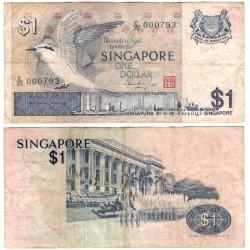 (9) Singapur. 1976. 1 Dollar (BC)