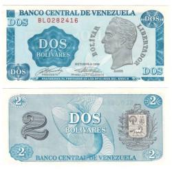 (69) Venezuela. 1989. 2 Bolivares (SC)