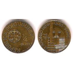 Portugal. 2006. ¼ Euro (SC) (Oro)