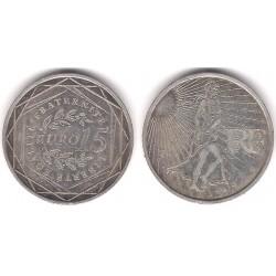 Francia. 2008. 15 Euro (BC+) (Plata)