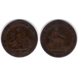 Gobierno Provisional. 1870. 5 Céntimos (BC) Ceca de Barcelona OM