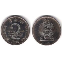 (147) Sri Lanka. 1984. 2 Rupees (SC)