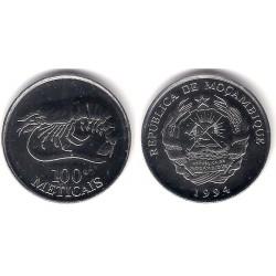 (12) Mozambique. 1994. 100 Meticais (SC)