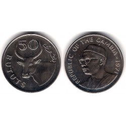 (21) Gambia. 1971. 50 Bututs (SC)