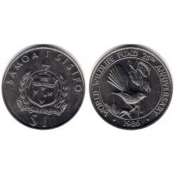 (74) Samoa i Sisifo. 1986. 1 Tala (SC)