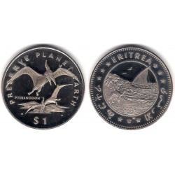 (14) Eritrea. 1993. 1 Dollar (SC)