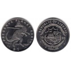 (109) Liberia. 1993. 1 Dollar (Proof)
