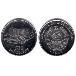 (121) Mozambique. 1994. 500 Meticais (SC)