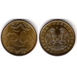 (5) Kazajstan. 1993. 50 Tyin (SC)