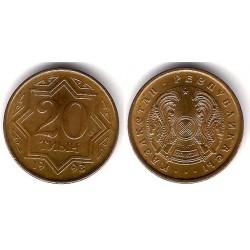(4) Kazajstan. 1993. 20 Tyin (SC)