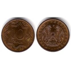 (3a) Kazajstan. 1993. 10 Tyin (SC)