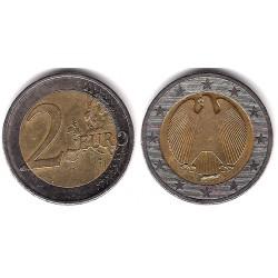 Alemania. 2011(A). 2 Euro (BC) Exceso de Metal