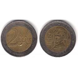 Austria. 2002. 2 Euro (BC) Exceso de Metal