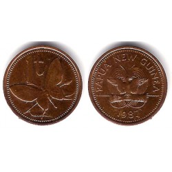 (1) Papua Nueva Guinea. 1987. 1 Toea (EBC)