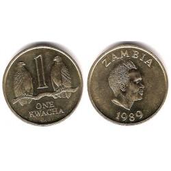 (26) Zambia. 1989. 1 Kwacha (SC)