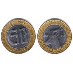 (126) Algeria. 1992. 50 Dinars (EBC)