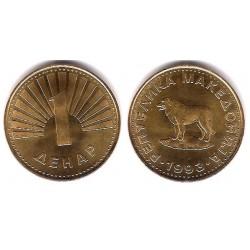 (2) Macedonia. 1993. 1 Denar (SC)