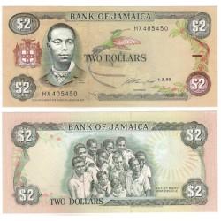 (69e) Jamaica. 1993. 2 Dollars (SC)