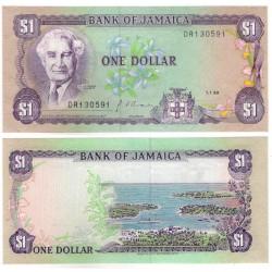 (68Ad) Jamaica. 1990. 1 Dollar (SC)