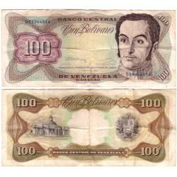 (66d) Venezuela. 1992. 100 Bolivares (BC)