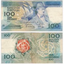 (179e) Portugal. 1988. 100 Escudos (MBC)