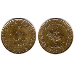 (86) Argentina. 1979. 100 Pesos (MBC)