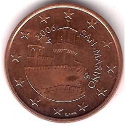 San Marino. 2006. 5 Céntimos (SC)