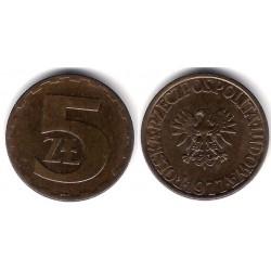 (Y81.1) Polonia. 1977. 5 Zlotych (SC)