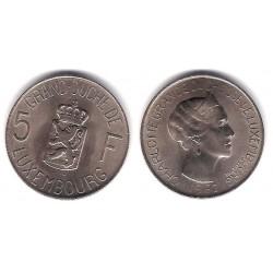 (51) Luxemburgo. 1962. 5 Francs (SC)