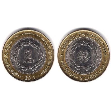 (165) Argentina. 2011. 5 Pesos (EBC)