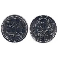 (625) Brasil. 1992. 5000 Cruzeiros (SC)