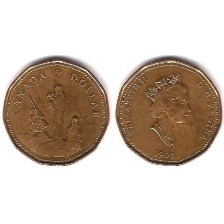 (258) Canadá. 1994. 1 Dollar (MBC)