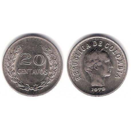 (246.1) Colombia. 1972. 20 Centavos (MBC)