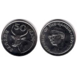 (12) Gambia. 1971. 50 Bututs (SC)
