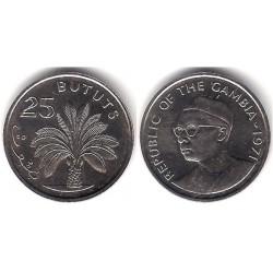 (11) Gambia. 1971. 25 Bututs (SC)