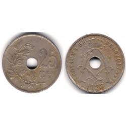 (69) Bélgica. 1923. 25 Centimes (BC+)