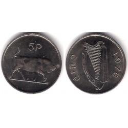 (22) Irlanda. 1976. 5 Pence (EBC)