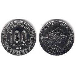(8) Estados África Central. 1996. 100 Francs (SC)