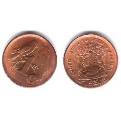 (132) Sudáfrica. 1995. 1 Cent (MBC)