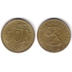 (48) Finlandia. 1976. 50 Pennia (MBC+)