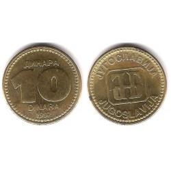 (152) Yugoslavia. 1992. 10 Dinara (EBC)
