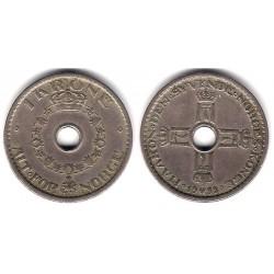 (385) Noruega. 1938. 1 Krone (BC+)
