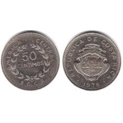 (189.3) Costa Rica. 1978. 50 Centimos (MBC+)
