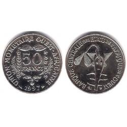 (6) Estados África Oeste. 1997. 50 Francs (SC)