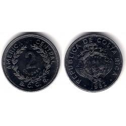 (211.1) Costa Rica. 1982. 2 Colones (EBC+)