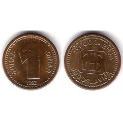 (149) Yugoslavia. 1992. 1 Dinar (EBC)