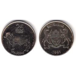 (6a) Botswana. 1991. 25 Thebe (EBC)